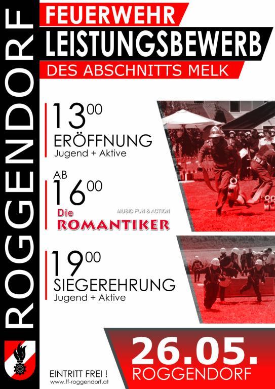 Plakat Abschnittsfeuerwehrleistungsbewerb 2018