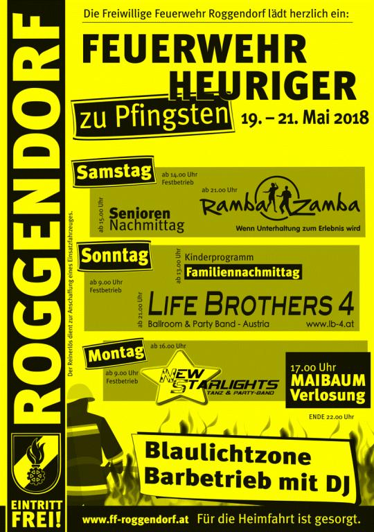 Plakat Heuriger 2018